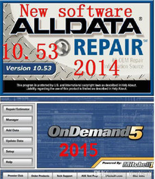 Wholesale Vw Fastest Car - 2015 Mitchell ondemand 5.8.2 and 2014 alldata 10.53 all data car repair software fast free shipping