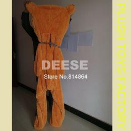 Wholesale Empty Bear - Wholesale- 160cm teddy bear empty shell coat bear skins Light purple with zipper Christmas Valentine's Day, birthday Gifts