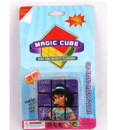 Wholesale Cheap Puzzle Cubes - 5.5 cm cartoon cube advertising cube PS cheap puzzle toys wholesale quality exquisite