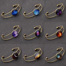 Wholesale Wholesales Glass Jewelry Trays - Wholesale- Steampunk Cabochon Glass Bracelets Bangles Settings Round Base Bezel Trays for Women Men Jewelry