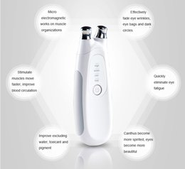 Wholesale Device Eye Dark Circles - Personal Galvanic Microcurrent skin firming machine Facial toning device Anti-Aging Bio skin lifting Device Dark Circles Firming Eye