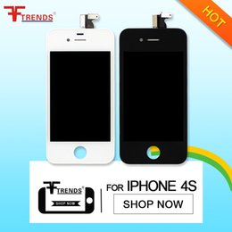 Wholesale Iphone Lcd Low Price - Free DHL low price for iphone 4 4s 4g lcd touch screen assembly replacement , wholesale new superior phone mobile accessories display