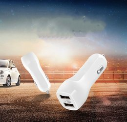 Wholesale Usb Duck - 500pcs lot Duckbilled Duck Mouth Dual USB 2.1A Car Charger adapter For Phone 4s 5 6 6splus 7 7plus for Samsung Galaxy S6 S5 S4