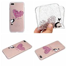 Wholesale Cartoon Sexy Case - Heart Bling Glitter Soft TPU Case For Galaxy S8 Plus S7 (A3 A5 J7 J5 J3)2017 Europe Star Flower Flamingo Sexy Girl Butterfly Cartoon Cover