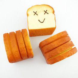 Wholesale Kawaii Card Holder - Wholesale-Cellphone Holder Jumbo Toast Hand Pillow Kawaii Squishy Phone Strap Card Bread
