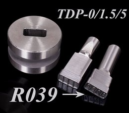 Wholesale Tdp Press Stamp - Free DHL Shipping R039 Stamp Die Mold Die Punching for Tablet Press Machine TDP-0 1.5 5 15.5X7.2mm