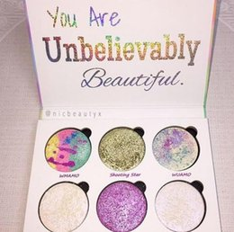 Wholesale Love Very - very cheap Love Luxe Beauty Fantasy Palette Makeup You Are Unbelievably Beautiful highlighter 6 Colors Eyeshadow hot sell