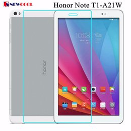 Wholesale Huawei Tablet Glass - Wholesale- Honor T1-a21 9H Tempered Glass Screen protector For Huawei Honor Note T1-A21W 9.6 inch Tablet Protective Film screen guard
