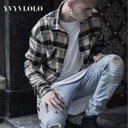 Wholesale Blue Denim Skinny Jeans - Wholesale-YVYVLOLO Represent Clothing Designer Pants Blue Black Destroyed Mens Slim Denim Straight Biker Skinny Jeans Ripped Jeans 28-40
