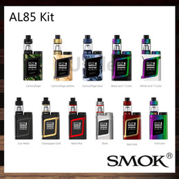Wholesale SMOK AL85 Kit With W AL85 Mini Mod ml TFV8 Baby Tank Adjustable Airflow System Alien Baby Starter Kit Compact Size Original