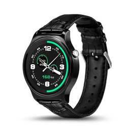 Wholesale Fitness For Life - Newest GW01 Bluetooth Smart Watch IPS Round Screen Life Waterproof Heart Rate Monitoring Sports SmartWatch For Android IOS Smartphones