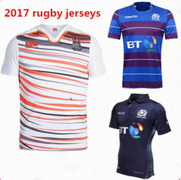 Wholesale Men S Stockings - Maillot Scotland Rugby Jersey 16 17 Shirts Scotland maillot Maglia Adults Men Size S-2XL In Stock and Have Wholesale Price