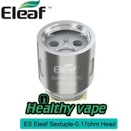 Paquete de reemplazo online-Original Eleaf MELO 300 Tank Replacement ESSextuple Coil Head (paquete de 5) 0.17ohm (100-300W) Cigarrillo electrónico