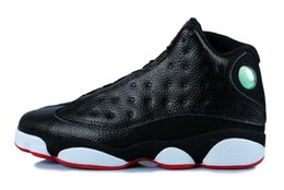 Wholesale Man Online Games - 2017 Air Retro 13 XIII mens women Basketball Shoes red Bred He Got Game Black Sneaker Sport Shoes Online Sale Men Shoes