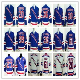 Wholesale Cheap Mats - New York Rangers Youth 20 CHRIS KREIDER 27 Ryan McDonagh 30 Henrik Lundqvist 99 Wayne Gretzky 36 Mats Zuccarello Hockey Jerseys Kids Cheap