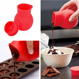Wholesale Silicone Bake Forms - Practical Silicone Forms Chocolate Melting Pot Mould Butter Sauce Milk Baking Pouring Cup For Kitchen Cooking Tools Accessories