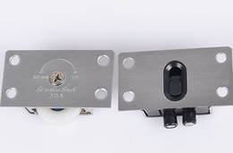 Poleas correderas online-338 puerta corredera con núcleo de cobre de acero inoxidable polea puerta corredera