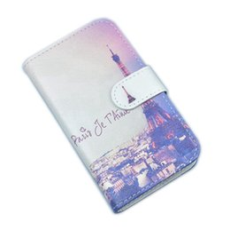 Wholesale Transparent I Phone Cover - Phone case For BQ Aquaris M4.5 Wallet Flip Cover PU Leather Pouch with Card position also Painting i For bq m4.5 case
