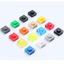 Wholesale Enlighten Girls - Wholesale-24 Colors 1 Dots model building kit Blocks Granules Plastic Bricks In Bulk Enlighten Toys Educational for Girl boy Compatible
