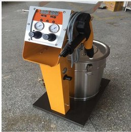 Wholesale Powder Coating Spray - Electrostatic Spray Powder Coating System Machine Spraying Gun Paint System fast shipping