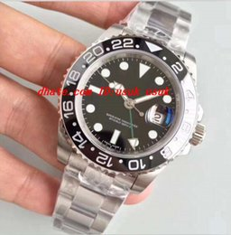 Wholesale Eta Swiss Date - Luxury Best V7 Version Noob Factory Mens Automatic Watch Black Ceramic Bezel Swiss Eta 2836 Or 3186 Movement Auto Date Men Dive Sport