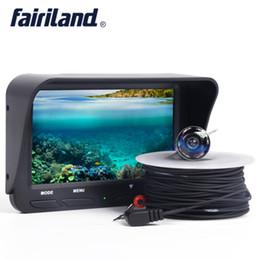 Canada X3 portable 4.3in LCD détecteurs de pêche détecteur de pêche moniteur de poissons profond moniteur sous-marin 2.0 méga caméra avec câble rechargeable batterie cheap cable finder Offre
