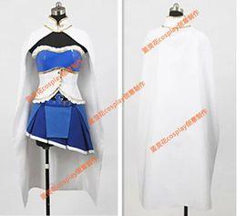 Wholesale Sayaka Miki Cosplay Costume - Female size-- Puella Magi Madoka Magica Sayaka Miki cosplay Anime Costume