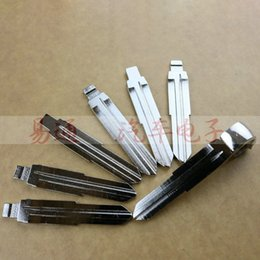Wholesale Original Replace Folding Key Blade For SSANG YONG Car K ey Embryo Replacing the Key Head Remote Key Blade NO