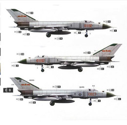 """Wholesale Aircraft Model 72 - Trumpeter 1 72 Shenyang F-8II """"Finback""""-B Fighter Aircraft Model for Collection Diecast Airplane Model Collections Gifts toys"""