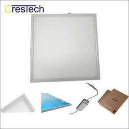 Wholesale Heat Sink Cooler - 1Ft 300mm LED panel indoor LED lights Grid LED downlight ceiling lamp aluminum housing and heat sink