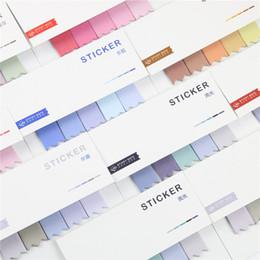 2019 notas da folha Atacado 1 peça coloridos Alterar delicado Sticky Notes escola escritório Pads Estudar Acessório etiquetas bonitos do memorando