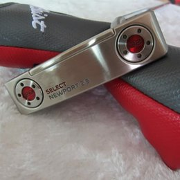 Wholesale Hand Clubs - Hot Sale Brand New Select Newport 2.5 putter With Headcover With 15g Weights Removable Top Quality Golf Clubs