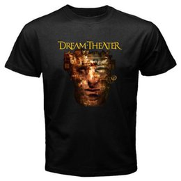 Wholesale Rock Band Tops - New DREAM THEATER *Scenes from a Memory Rock Band Men's Black T-Shirt Size S-3XL Tops Summer Cool Funny T-Shirt