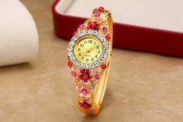 Wholesale Multi Gem Bracelet - 2017 new fashion trend watches female bracelet quartz electronic ladies wrist watch free shipping