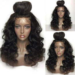 Wholesale Very Curly Hair - Actual body wave,100%virgin Mongolian hair for black women,very long wave glueless front lace wigs,three clips,Middle part,stock