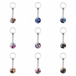 Wholesale Stainless Steel Small Crosses - Brand new Hot Keychain Time Gemstone Keychain Small Pendant Accessories KR223 Keychains mix order 20 pieces a lot