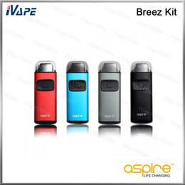 E tecnologia bateria on-line-100% Original Aspire Brisa Kit Tudo em Um AIO Dispositivo Vaping Com Com 650 mah Bateria e 2 ml Embutido Tanque U-tech Bobina Substituível