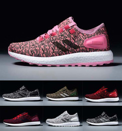 Wholesale Deep Online - 2017 Hot Sale Pure Boost 2.0 Sports Shoes Men Women Pureboost Running Shoes Pure Boost Trainer Sneaker shoes Size 36-45 cheap online