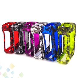 Wholesale g bags wholesale - Skull Case G-PRIV 220W Silicon Case Skull Head Bag Colorful Soft Silicone Sleeve Cover Skin For G-PRIV 220 Box Mod DHL Free