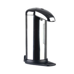 Wholesale Hand Wash Dispensers - penguin shape 500ml Automatic Soap dispenser stainless hands cleaner hand washing holder