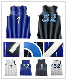 Wholesale 1 Tracy McGrady Penny Hardaway Basketball Jersey Men s Adult Shaquille O Neal Sportswear Jerseys Throwback Mesh ALL HAVE Name and numbe