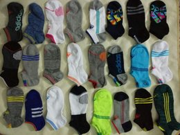 Wholesale Sports Cotton Socks Brands - Hot Sale 10 Pairs Lot Quick Dry Brand Sports Socks A Jia 100% Cotton Invisible Socks For Men And Women