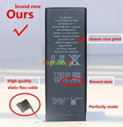 Wholesale Iphone 5g Internal Battery Replacement - Original Best Built-in Internal Li-ion Replacement Battery For iphone 4S 4 S 5 5S 5C 5G 6 6S Plus 7 7G plus 1430mah 1560mah 1440mah AAAAA+