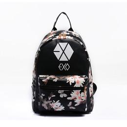Wholesale Korean Mini Dresses For Summer - VEEVANV 2016 Korean Summer New Fashion Butterfly Flower Backpacks For Teenager EXO Bigbang GD MADE TOP BTS Backpacks Women Bags