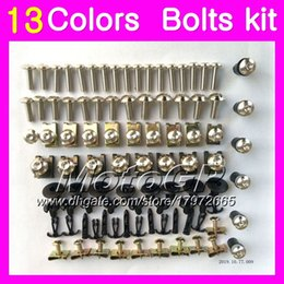 Wholesale Screw Fairings - Fairing bolts full screw kit For HONDA CBR1000RR 15 16 17 CBR 1000 RR 1000R CBR1000 RR 2015 2016 2017 Body Nuts screws nut bolt kit 13Colors