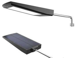 Wholesale Wholesale Solar Leds - led Solar 108 LEDs 2100LM high Powered Radar Motion Sensor Wall Light Outdoor Waterproof Energy Saving Lamp Street Yard Path Garden light