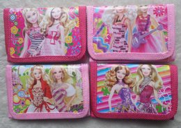 Wholesale Princess Coin - 36 pcs lot Cute Coin Purses Cartoon Character Baby Princess Pouch Small Wallet For Baby Girl Money Bag Birthday Christmas Party Gift