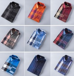 Wholesale French Mens Fashion - Wholesale-New 2017 High quality Mens Shirts Designer Brand Fashion Business Casual Dress Shirt with french cufflinks Free Shipping #991