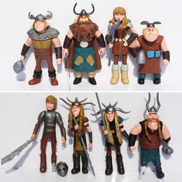 Wholesale Dragon Ball Figures Set - 1 Set 8pcs let How To Train Your Dragon Action Figure Toys Figures Gifts For Children Christmas Gifts Free Shipping