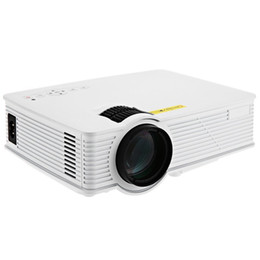 Wholesale Mini Pc Gps - Wholesale-Portable Mini Projector GP-9 Home Theater 2000 Lumens Full HD 1920 x 1080 Pixels Multimedia LCD Video Teaching Projector for PC
